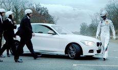 BMW skickar världens snabbaste julhälsningar