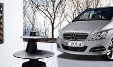 """Mercedes lyxbuss blir en """"yacht på hjul"""""""