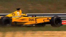 PROVKÖRD: Renault F1