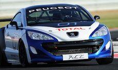 Peugeot kör racing med RCZ