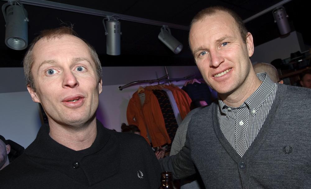 9467150f7b0 Anders och Magnus Gustafsson var med när butiken invigdes. Fred Perry ...