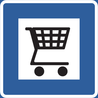 Enklare att hitta shoppingcenter