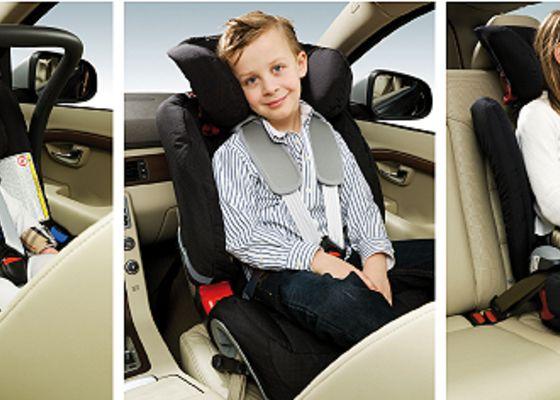 Volvo lanserar tre nya bilbarnskydd Husvagn & Camping