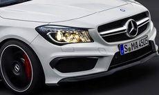 Första bilderna på Mercedes CLA 45 AMG