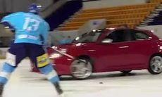 FILM: Alfa Romeos misslyckade ishockeyfilm