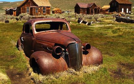 old car USA järnåldern