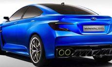 Subaru WRX Concept läcker ut – en ny STI?