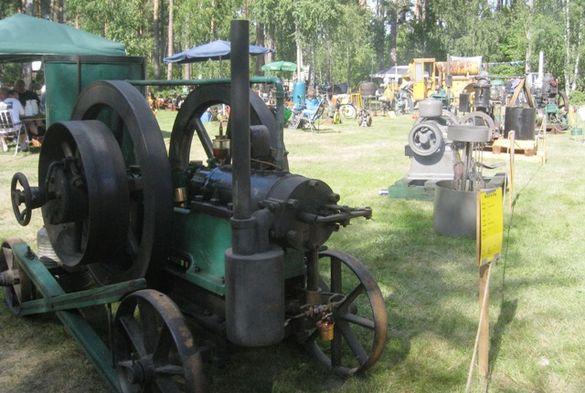 Den stora attraktionen är givetvis alla gamla stationärmotorer – omkring 130 av dem var i gång på Motorns dag. Foto: Ewald Ekman