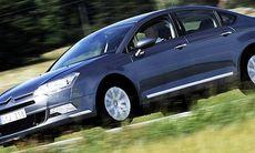 Citroën C5 – ensam kvar med gasfjädring