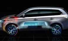 Mitsubishi planerar flera hybridmodeller