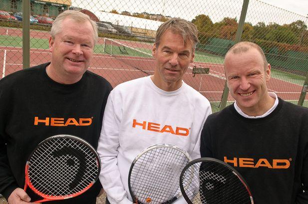Gänget som ska lyfta Head tennis i Sverige