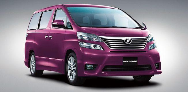 Toyota Vellfire 2.4 (2011-)