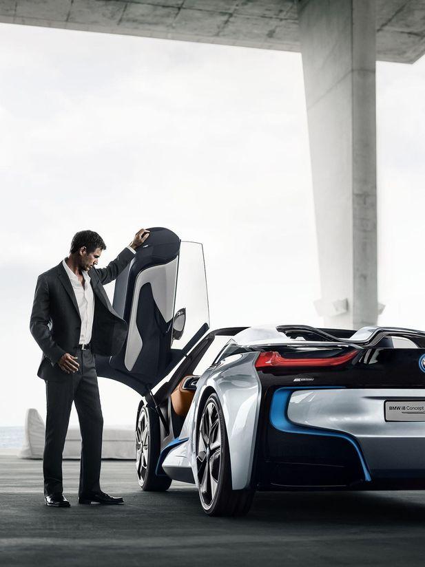 BMW i8 Concept Spyder premiärvisas i Beijing - Bild 525227