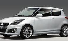 Första titten på nya Suzuki Swift Sport