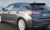 PROV: Lilla prestigehybriden Lexus CT 200h