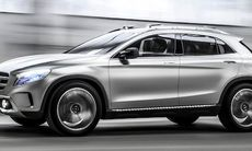 Officiell: Mercedes GLA Concept