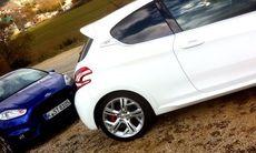 Första mötet: Peugeot 208 GTI vs. Ford Fiesta ST