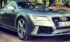 Provkörd: Audi RS 7 Sportback - direktörsdynamit