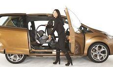 Ford B-Max öppnar sin famn – filmer