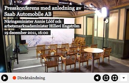 Regeringen www.regeringen.se presskonferens