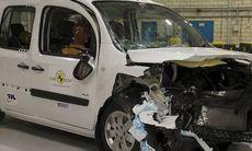 """Mercedes """"nöjda"""" med tre stjärnor i Euro NCAP"""