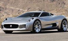 Jaguar avslöjar hyperhybriden C-X75
