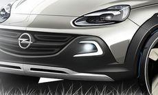 Opel Adam Rocks – en crossover med tygtak