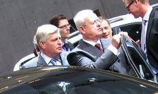 Kia Carens testas av VW-chefen Winterkorn