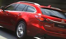 Officiell: Här är nya Mazda 6 som kombi