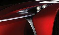 Lexus smygvisar ny konceptbil