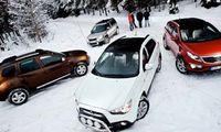 TEST: Dacia Duster 4x4, Kia Sportage AWD, Mitsubishi ASX 4WD och Skoda Yeti 4x4
