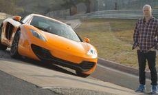 TV: Huldts fartorgie med McLaren MP4-12C