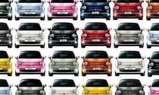 Fiat 500 når milstolpe