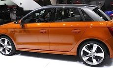 Audi A1 Sportback provkörd – i baksätet