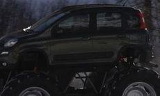 Fiat Panda 4X4 monstertruck!