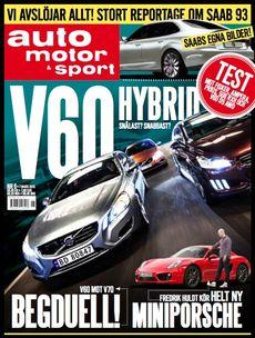 6/2013: Nya auto motor & sport - nu snyggare!