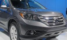 Honda CR-V blir modernare – men inte större