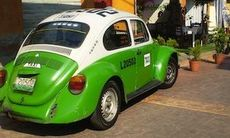 Mexiko förbjuder Volkswagen Beetle som taxibil