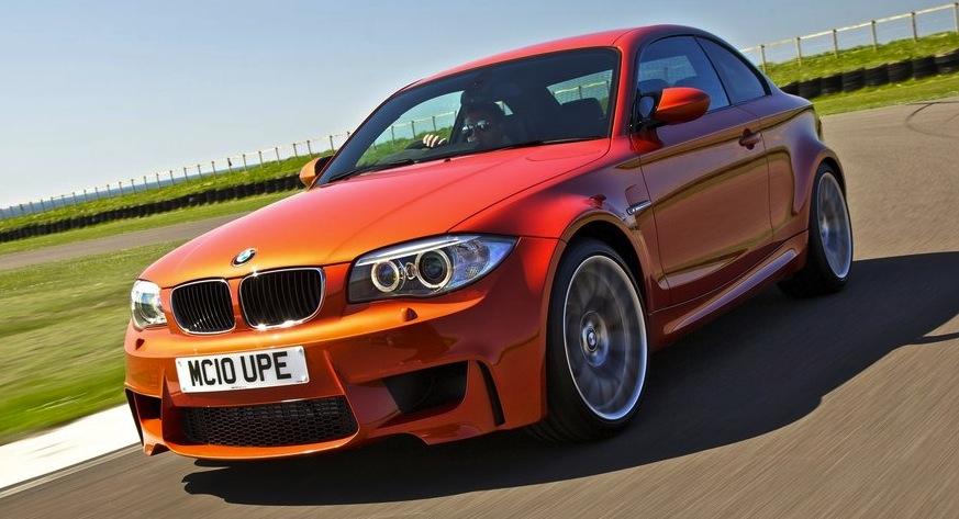 En typiskt manlig bil, enligt Inside Lines undersökning: BMW 1-serie M Coupé.