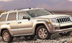 Halv miljon Jeep Grand Cherokee och Commander återkallas