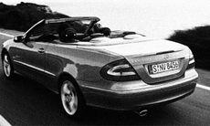 Mercedes CLK: Yta och innehåll