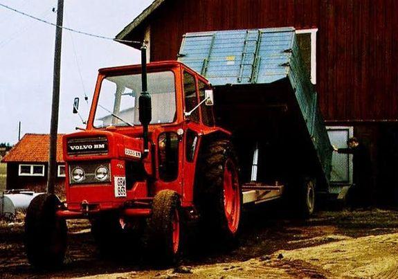 Traktorhydraulik som inte funkar under 0 grader