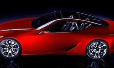Lexus LF-Lc Concept – här är första bilderna