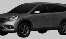 Bilder på nya Honda CR-V läckta