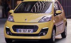 Peugeot 107 får ett lyft och blir snålare