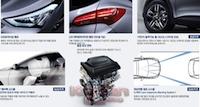 Broschyren läckte ut på en koreansk bilblogg. Klicka för att se en större version!