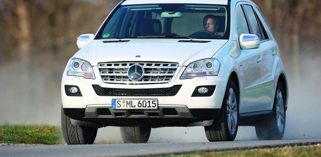 Mercedes-Benz ML 450 CDI 4-MATIC (2011-)