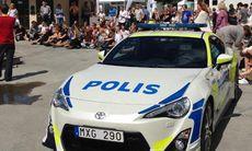 Toyotas kupp: GT 86 som polisbil