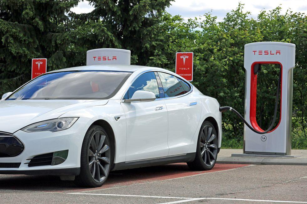 Tesla model 3 imponerar