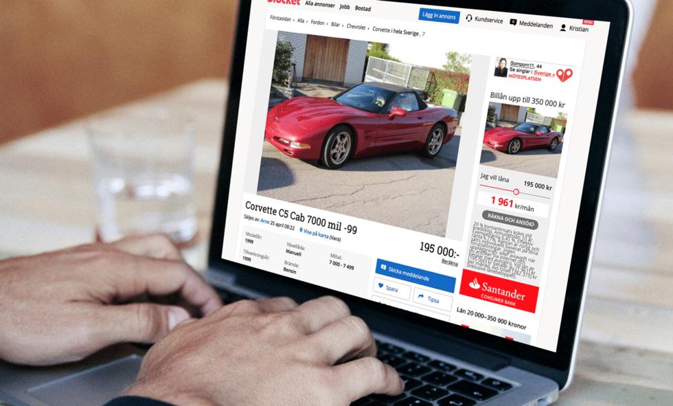 Köpa fordon med kredit och kreditspärr.